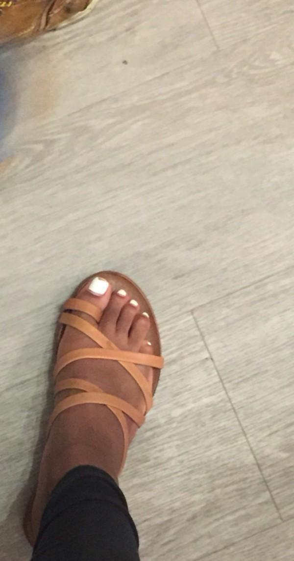 shoes nude sandals flat sandals