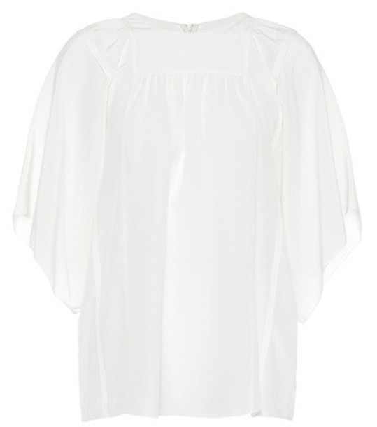 Chloé Silk blouse in white
