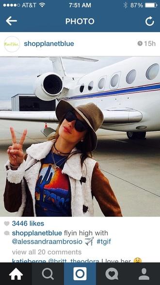 coat alessandra ambrosio boho boho chic hippie celebrity style