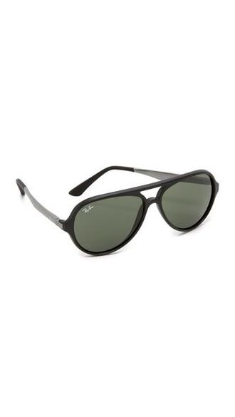 matte sunglasses aviator sunglasses black green matte black