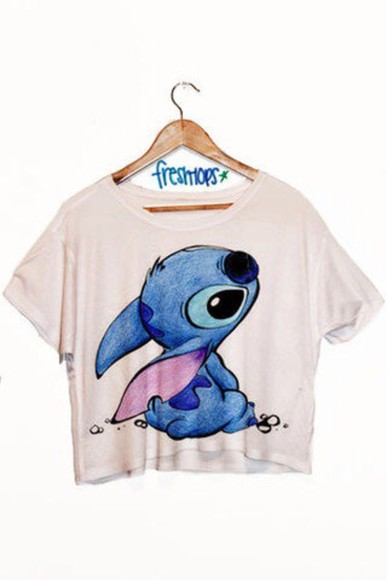 t-shirt stitch fresh-tops.com disney lilo and stitch