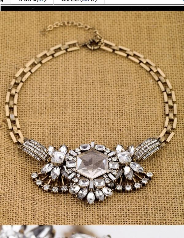 jewels necklace necklace big necklace friendship necklace