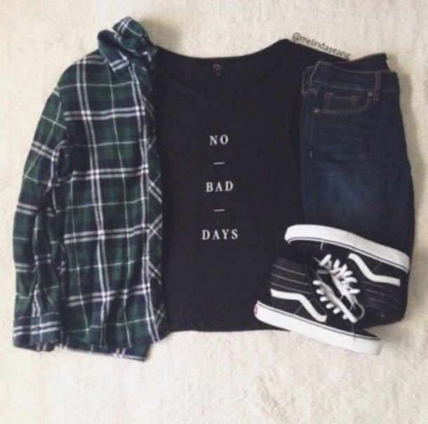 top no bad days print