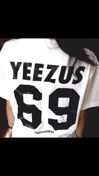 yeezus jersey shirt