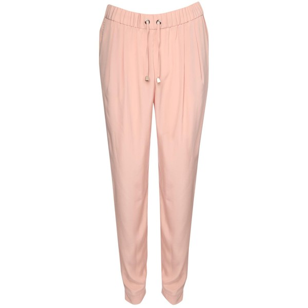 Jane Norman Nude Tailored Joggers - Polyvore