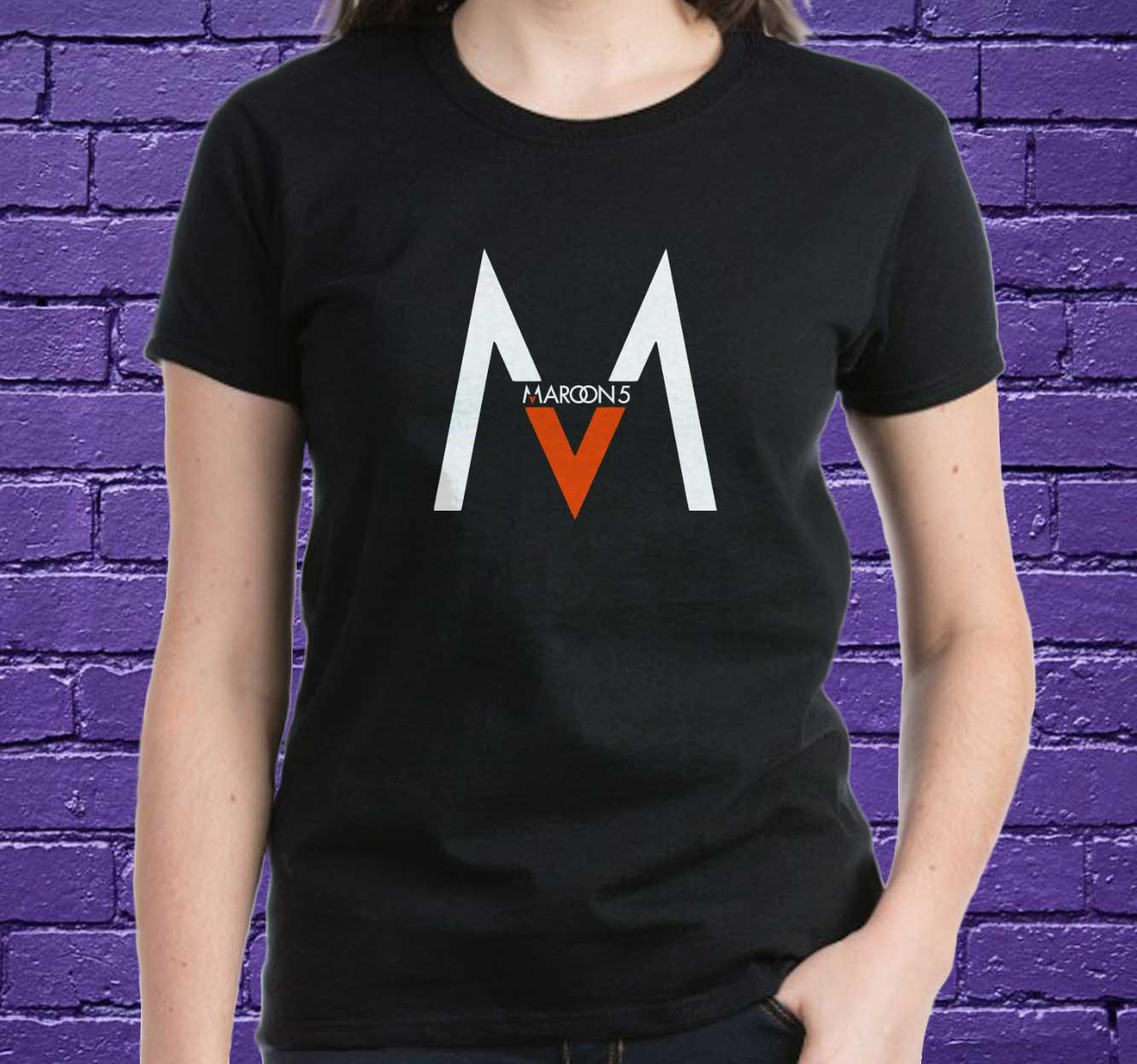 Shirt design pinterest - Maroon 5 Shirt Black White Maroon 5 Women Tshirt Best Design Maroon 5 Animals Shirt Tumblr Pinterest Mf01ocf
