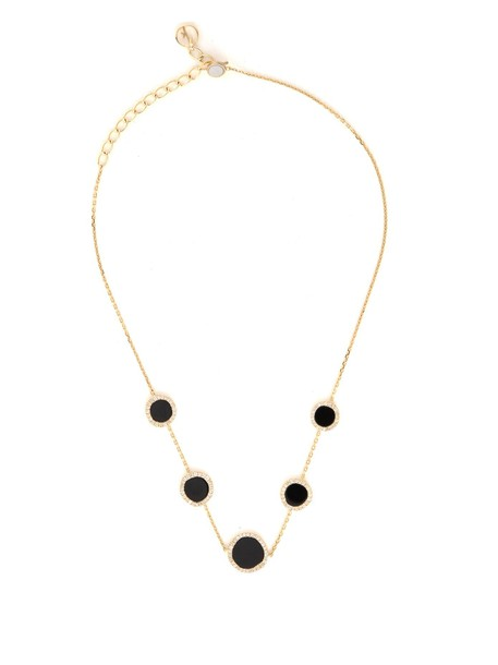 ANISSA KERMICHE gold choker gold yellow black jewels