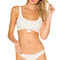 Frankies bikinis greer top in white from revolve.com