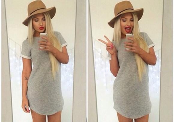 cute dress grey dress similar