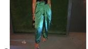 pants,satin,green,sexy,love,women,lace top,emerald green,polyvore,need ,wide-leg pants,heels