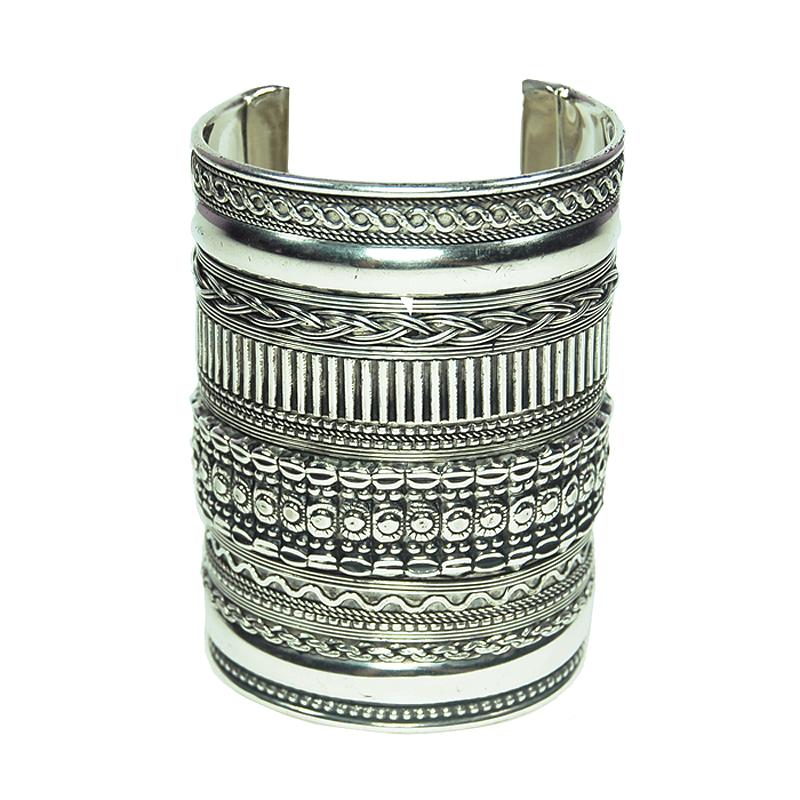 Large silver cuff