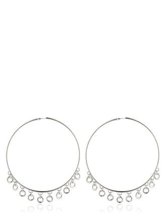 silver earrings lolita earrings silver jewels