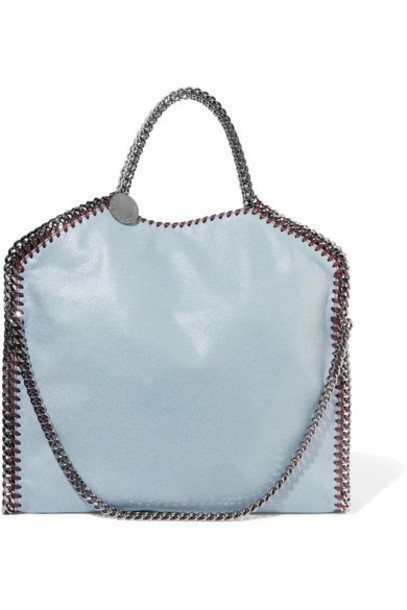Stella McCartney light bag shoulder bag leather blue light blue