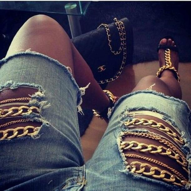 jeans embellished denim