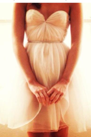 dress wedding dress chiffon minidress prom dress