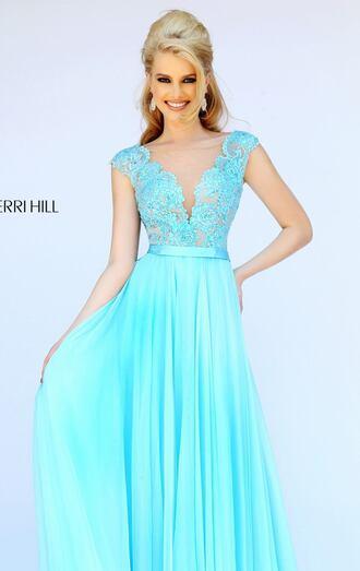 dress sherri hill prom prom dress lave vline long prom dress long dress