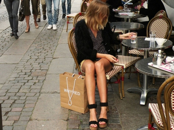 shoes model cafe paris cardigan dress cute hair pretty perfect whyred bag shopping coffee girl fashions style platformw wedges cork wood ankle strap ankle cuff double strap flatform sandals fall outfits summer spring platform shoes