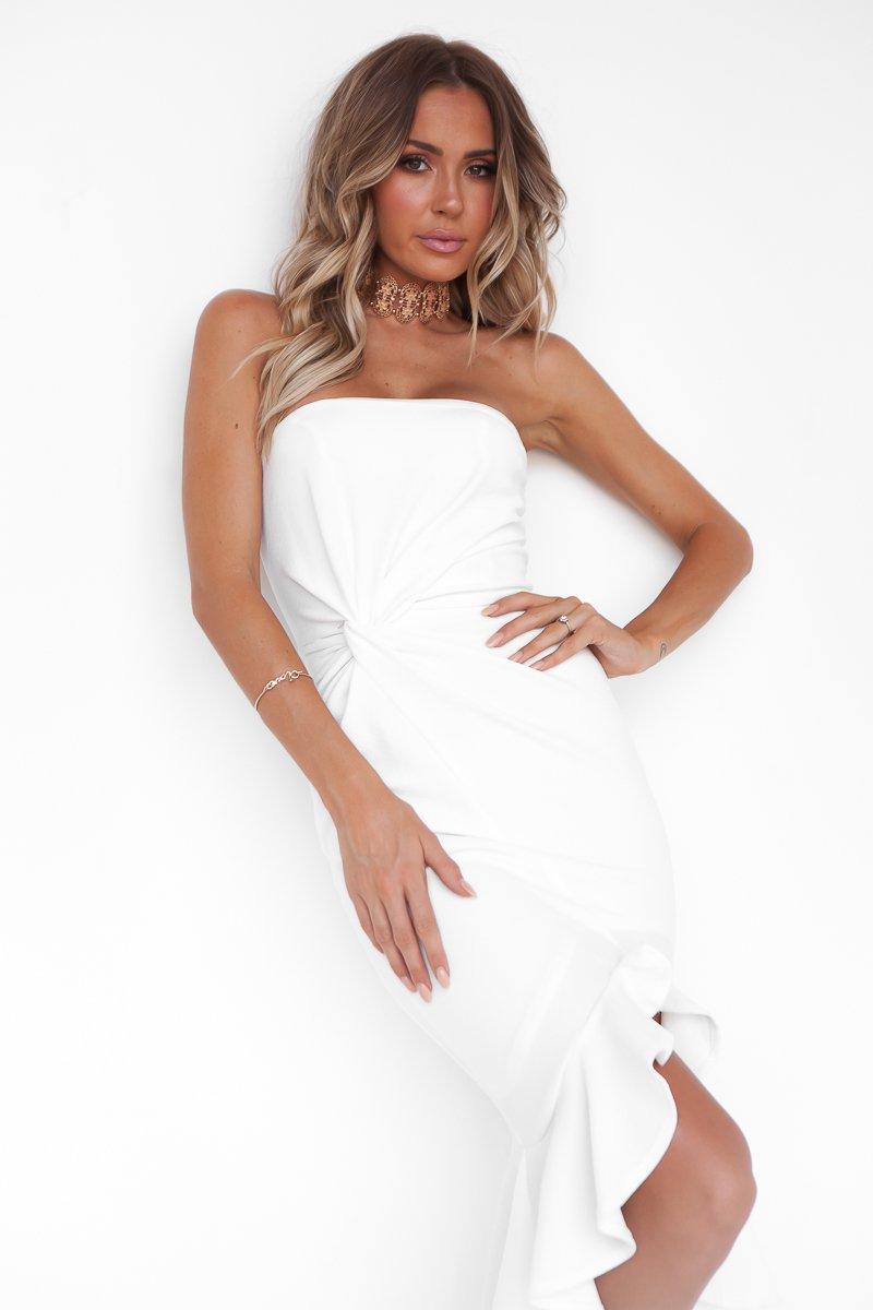 Fine Dine Dress (White)