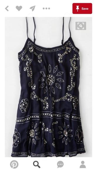 dress navy dress mini dress summer dress