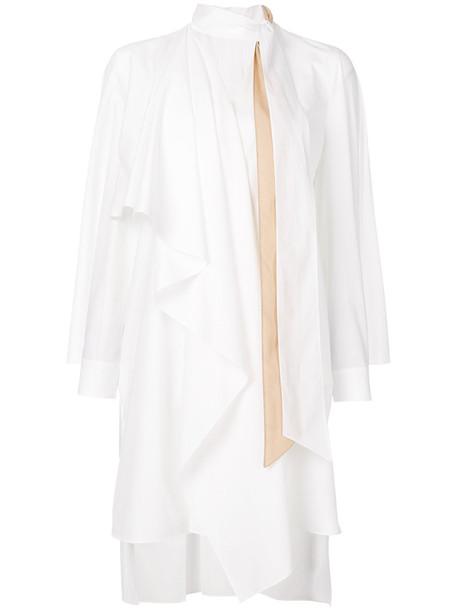 Fendi dress bow dress bow women plastic white cotton