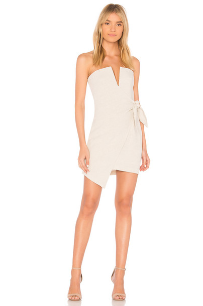 Bec&Bridge dress mini dress mini beige