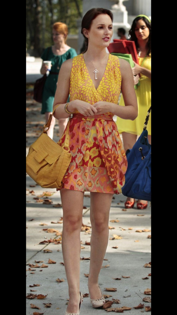 jewels blair waldorf necklace gossip girl dress