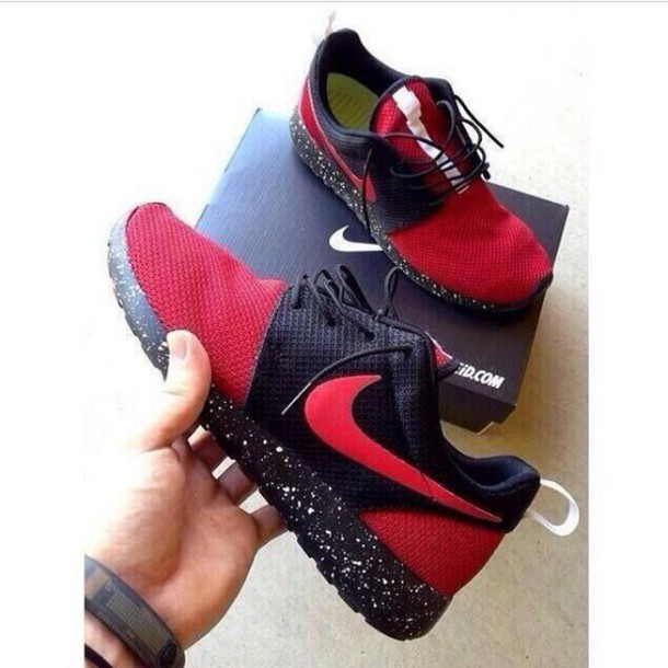 shoes nike running shoes sports shoes black and red sportswear sports shoes