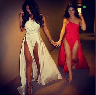 dress red dress red long dress split maxi maxi dress white dress long prom dress prom dress satin dress