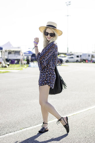 a lacey perspective - a fashion blog based in our nation's capital. blogger romper jumpsuit