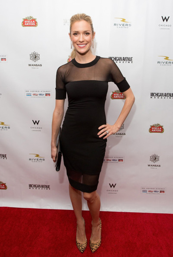 kristin cavallari dress black little black dress