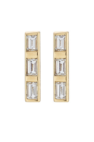 diamonds earrings gold white yellow jewels