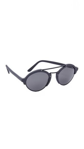 matte sunglasses black grey matte black