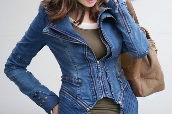 Vintage Denim Jacket - Juicy Wardrobe
