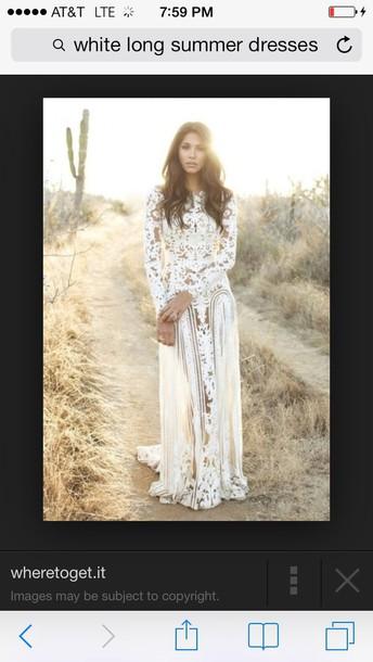 dress long sleeve lace dress