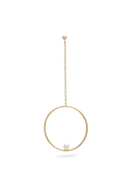 ANISSA KERMICHE pearl gold yellow jewels