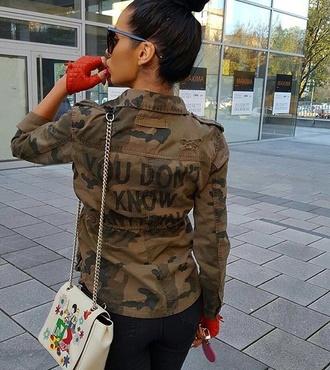 shirt military style military coat jacket fashion