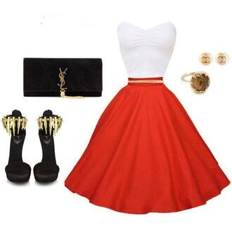 dress bag jewels shoes belt