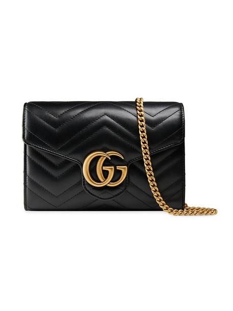 mini metal women bag mini bag leather black