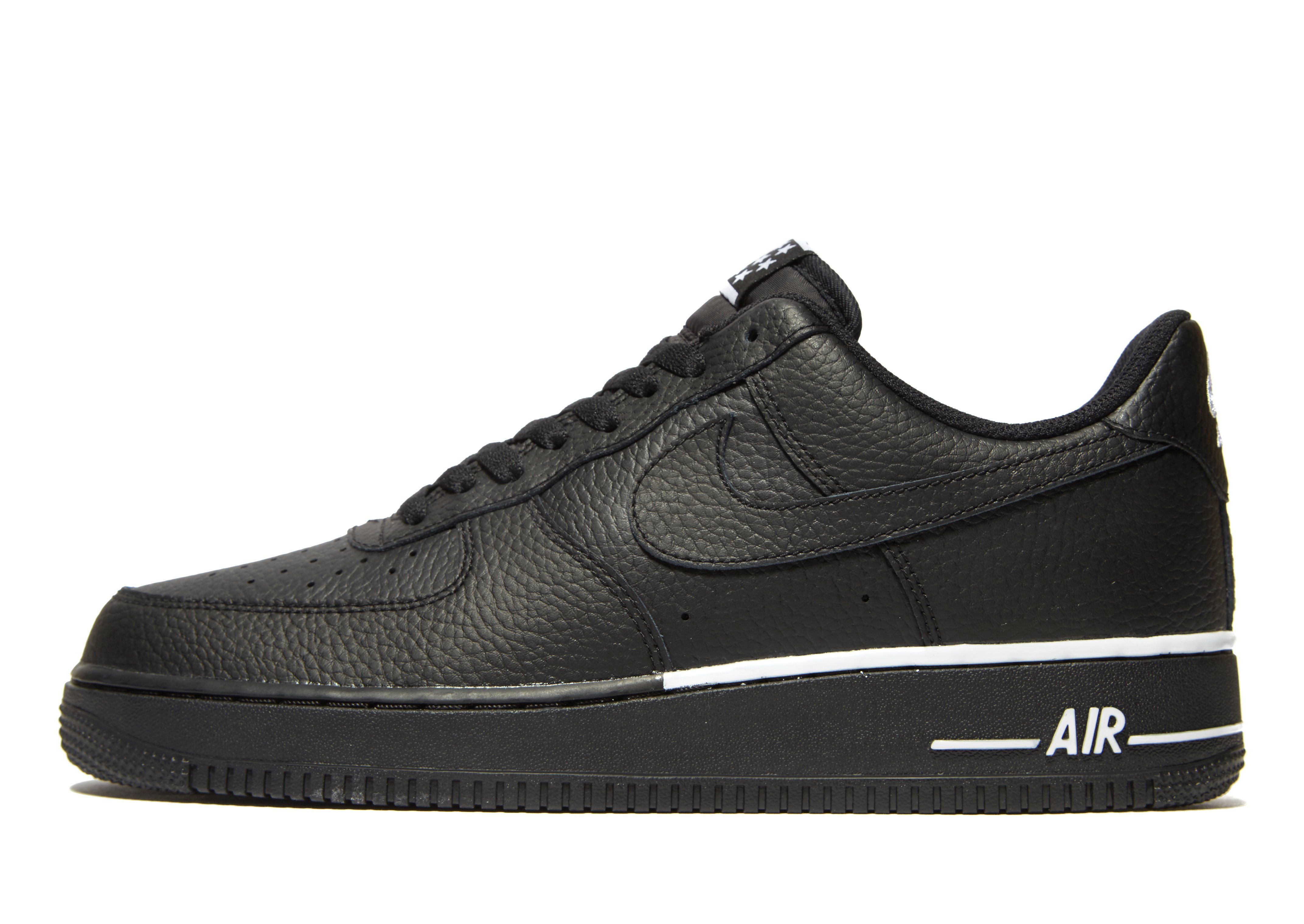 A cold wall* Air Force 1 Low Sneakers In Black