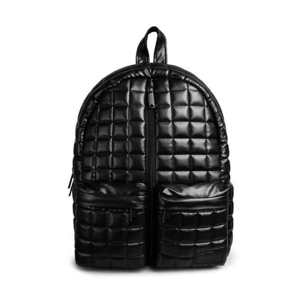 Bag: backpackp, rucksack, quilted, quitled bag, quilted backpack ... : black quilted rucksack - Adamdwight.com