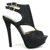shoes,heels,high heels,sandal heels,prom,black heels,slingback heels,fashion