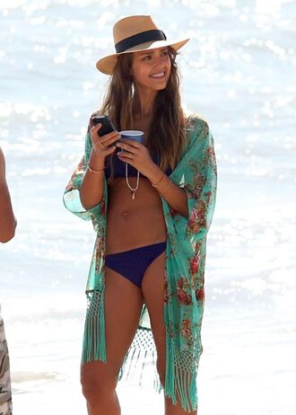dress clothes jessica alba kimono holidays blouse