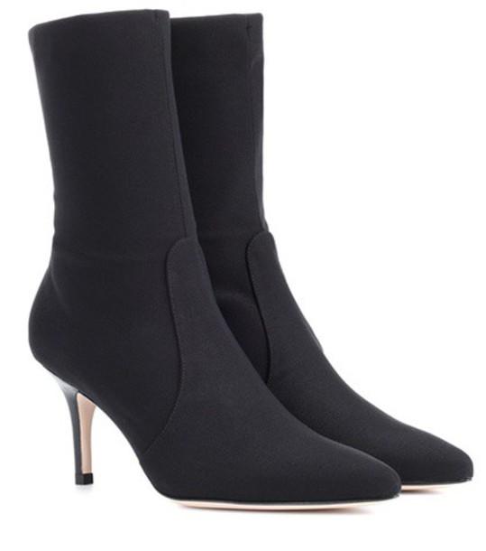 STUART WEITZMAN ankle boots black shoes
