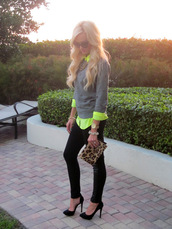 a spoonful of style,sweater,shirt,pants,shoes,bag,jewels,sunglasses,blouse
