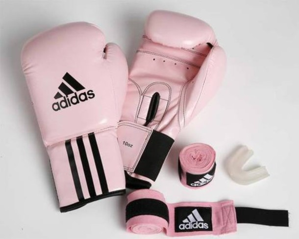 Pink boxing gloves tumblr great value adidas pink boxing
