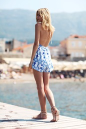 tuula,blogger,romper,shoes,jewels