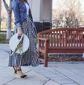 lilly's style,blogger,skirt,t-shirt,jacket,shoes,bag,scarf