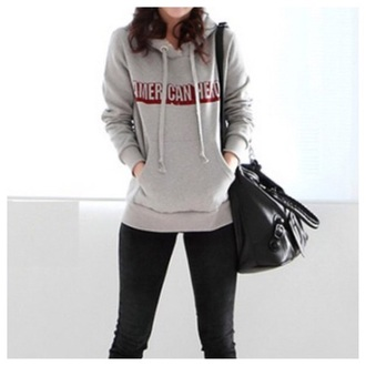 sweater clothes fashion style winter sweater hoodie cute grey fall outfits kawaii girly top streetwear