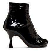 heel,heel boots,black,shoes