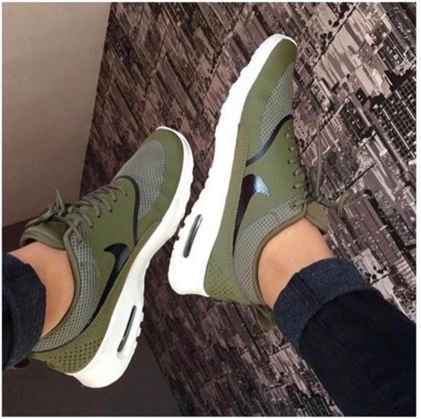 free shipping b94a0 00042 shoes green nike olive green forest green khaki nike shoes nike running  shoes nike roshe run